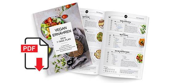 Kostenloses PDF zur veganen Ernährung
