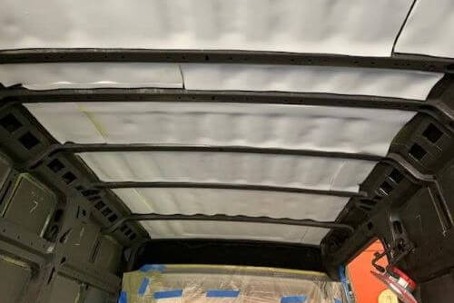 car roof insulation