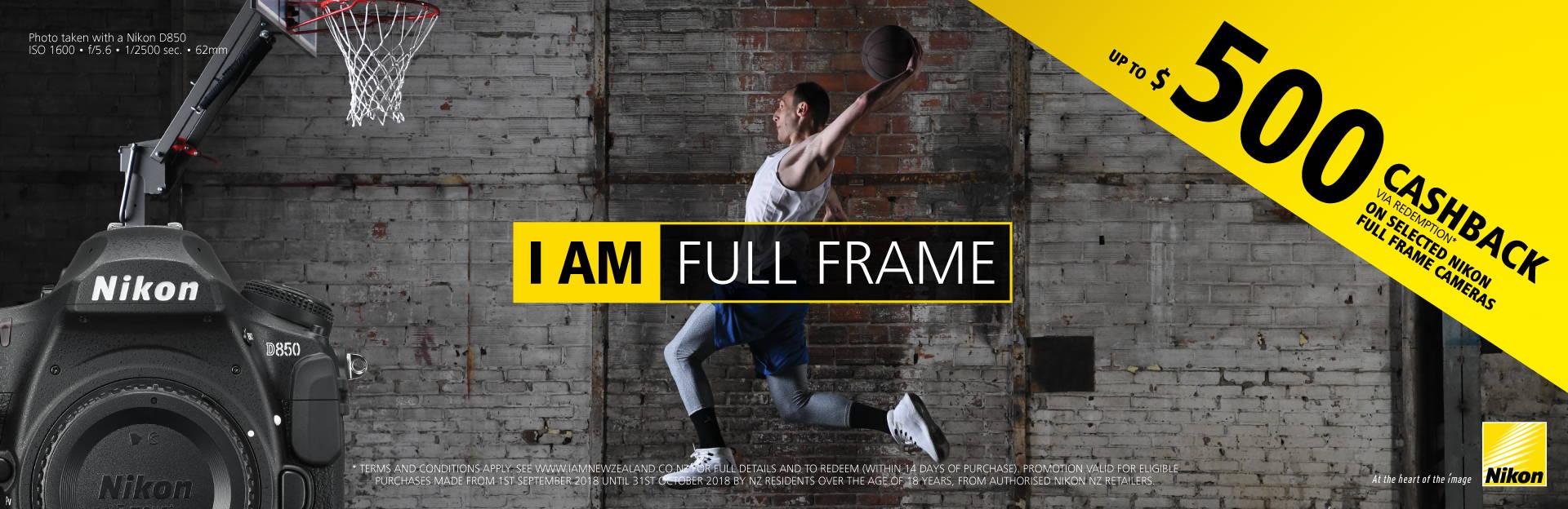 Nikon Fullframe Cashback
