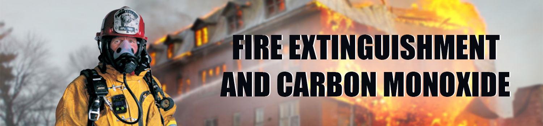 fire rescue extinguishment carbon monoxide poisoning levels safety