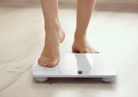 Beim Abnehmen selten wiegen