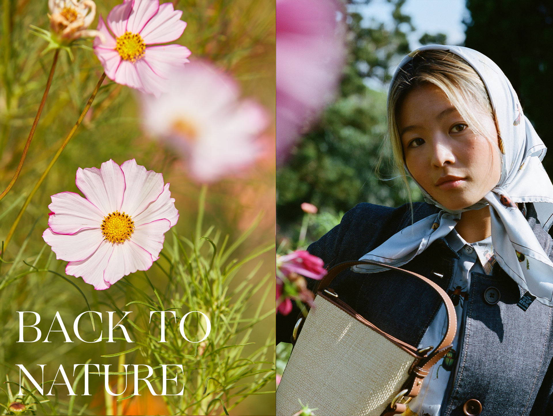Back to Nature with Yan Yan Chan X Oroton