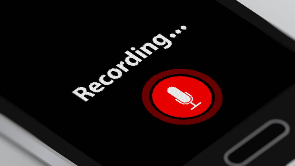 recording on smartphone