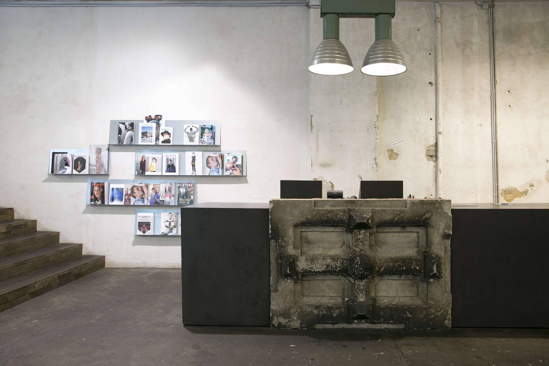Voo Store front desk, Berlin