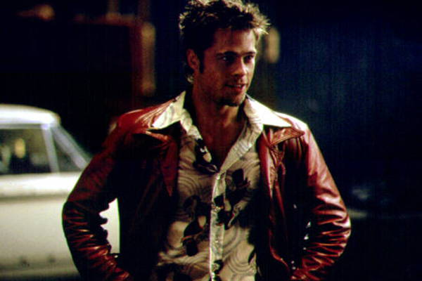 Leather Jacket Movie Fight Club