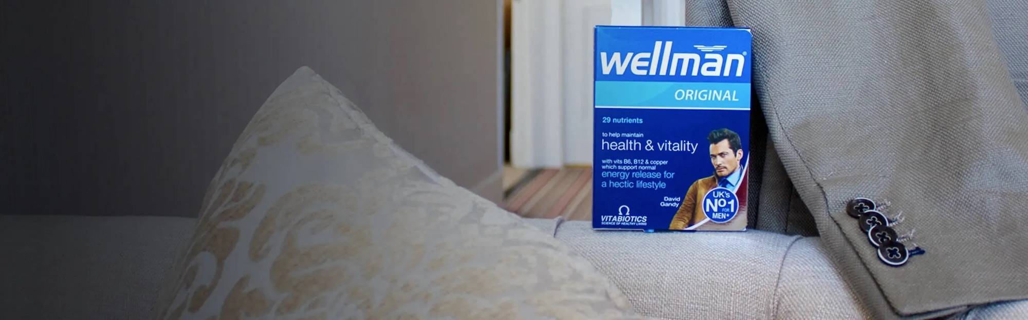 Formulated exclusively for men's health, Wellman Original gives you over 29 nutrients in a simple one-a-day tablet.