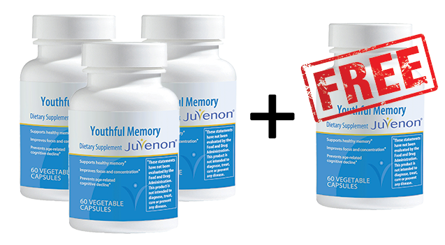Youthful Memory Buy 3 Get 1 Free