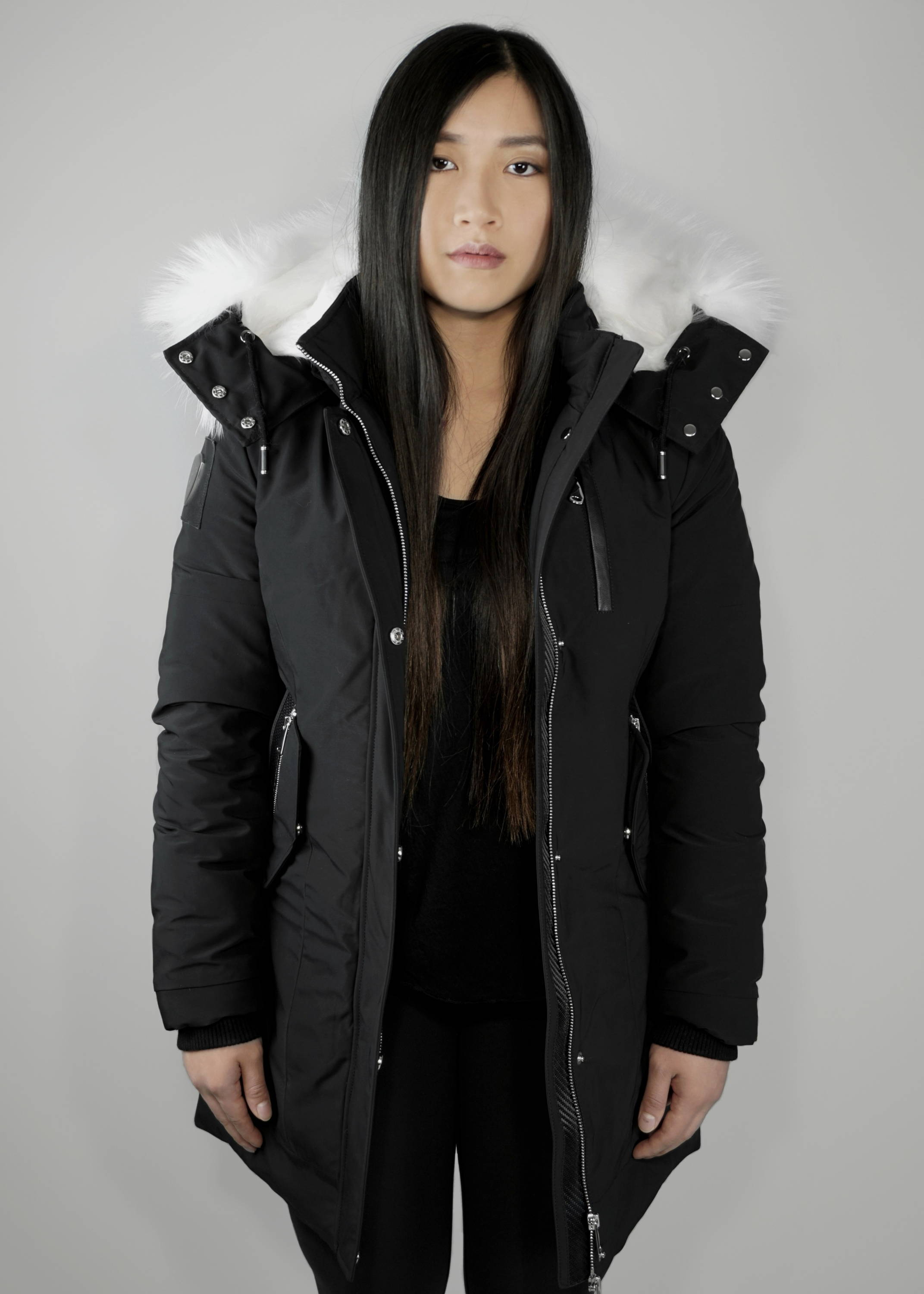 Carbonesque womens Vega parka