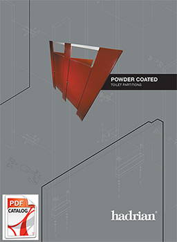 Hadrian Powder Coated Steel Toilet Partition Catalog