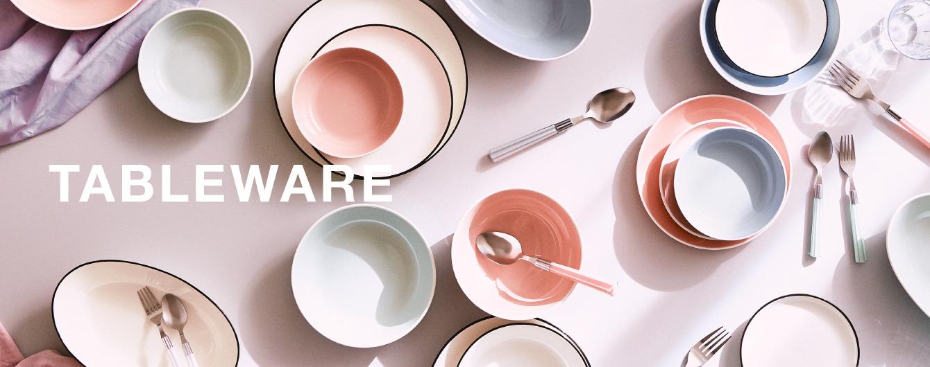 おしゃれでかわいいテーブルウェアで食卓に彩りを!