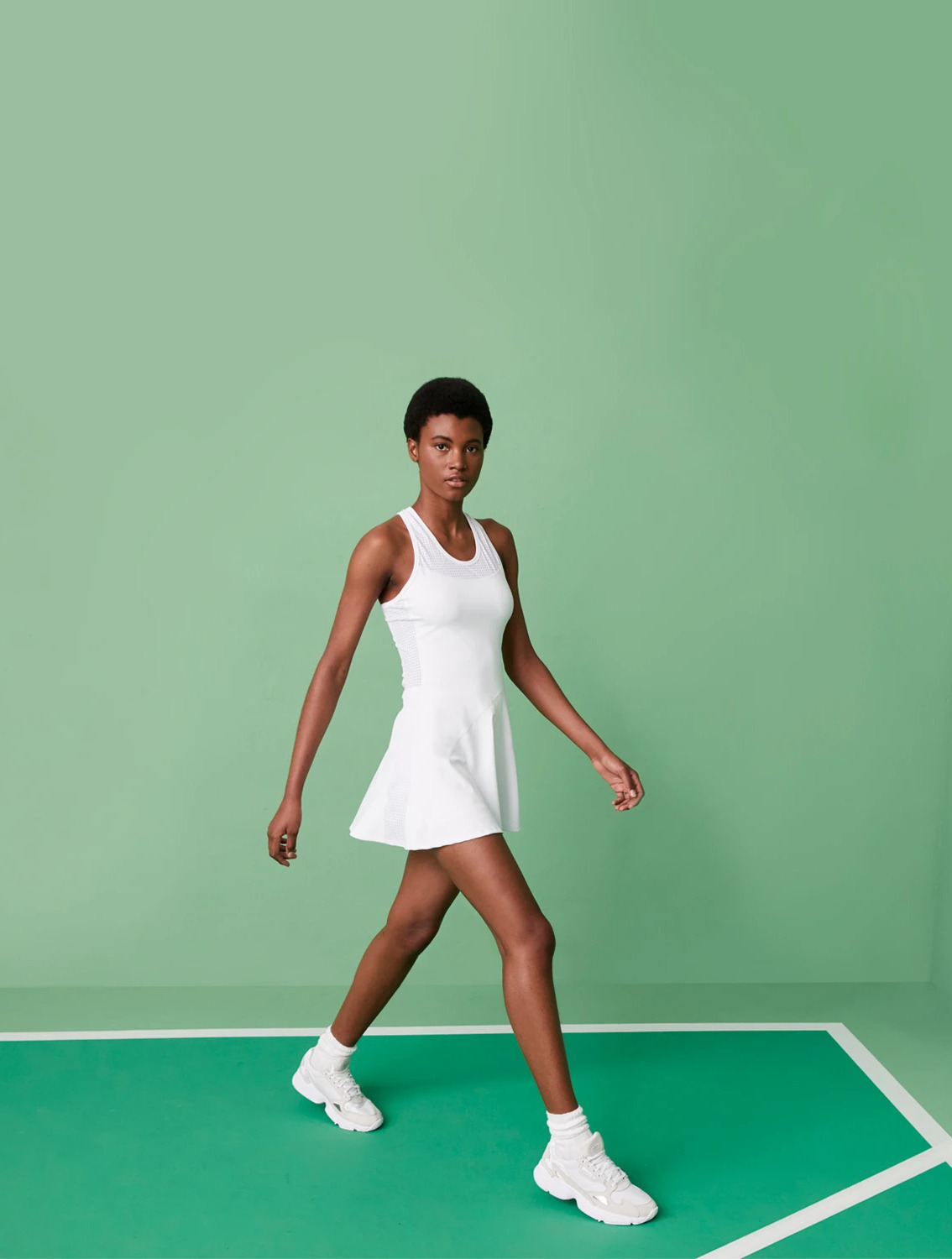 Shop the Tennis Collection Featuring the Serena Dress