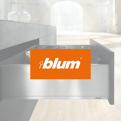 Blum used in our flat pack kitchens, The Blue Space