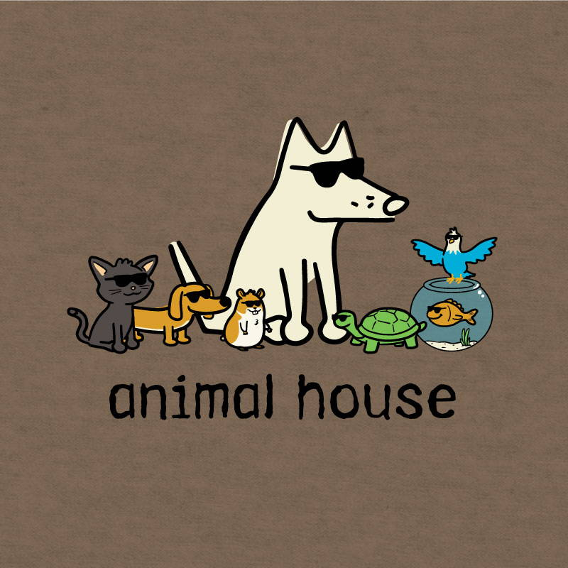 Shop teddy the dog animal house pup culture collection