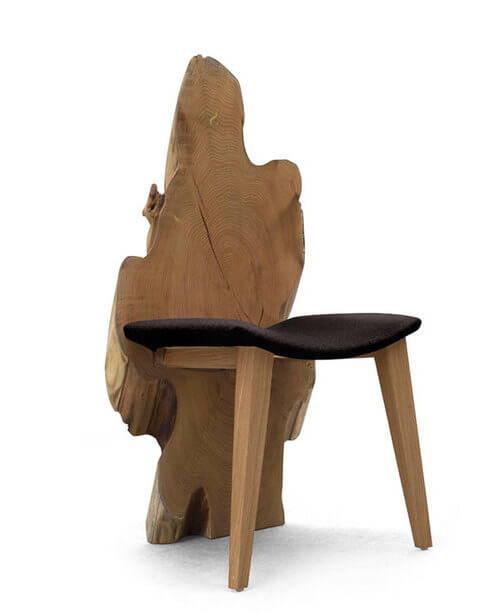 Sentient Locust Wood Chair