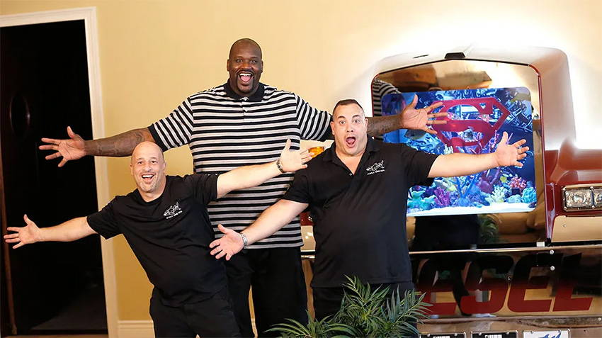 Shaq and the Tanked Boys