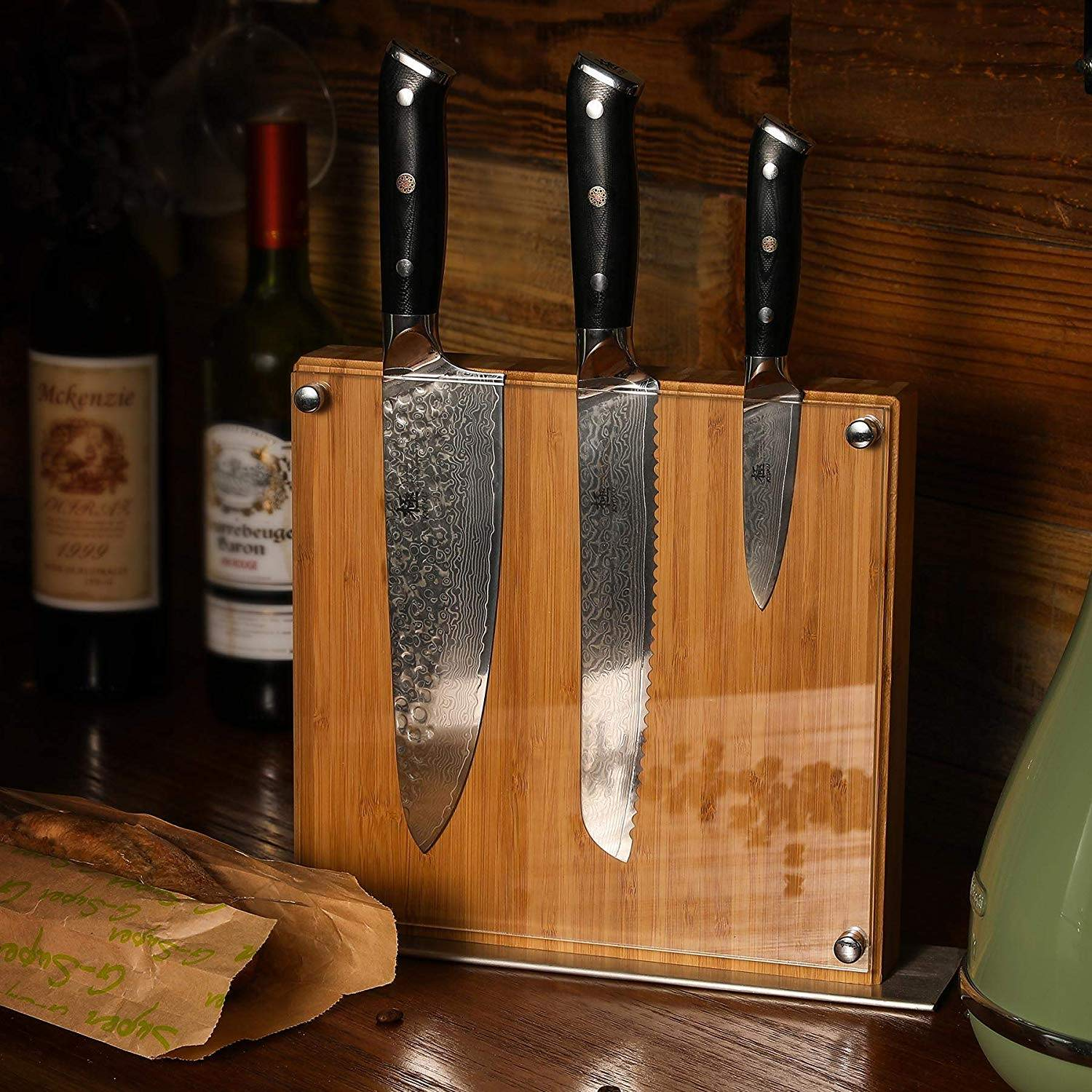 japanese knife block set