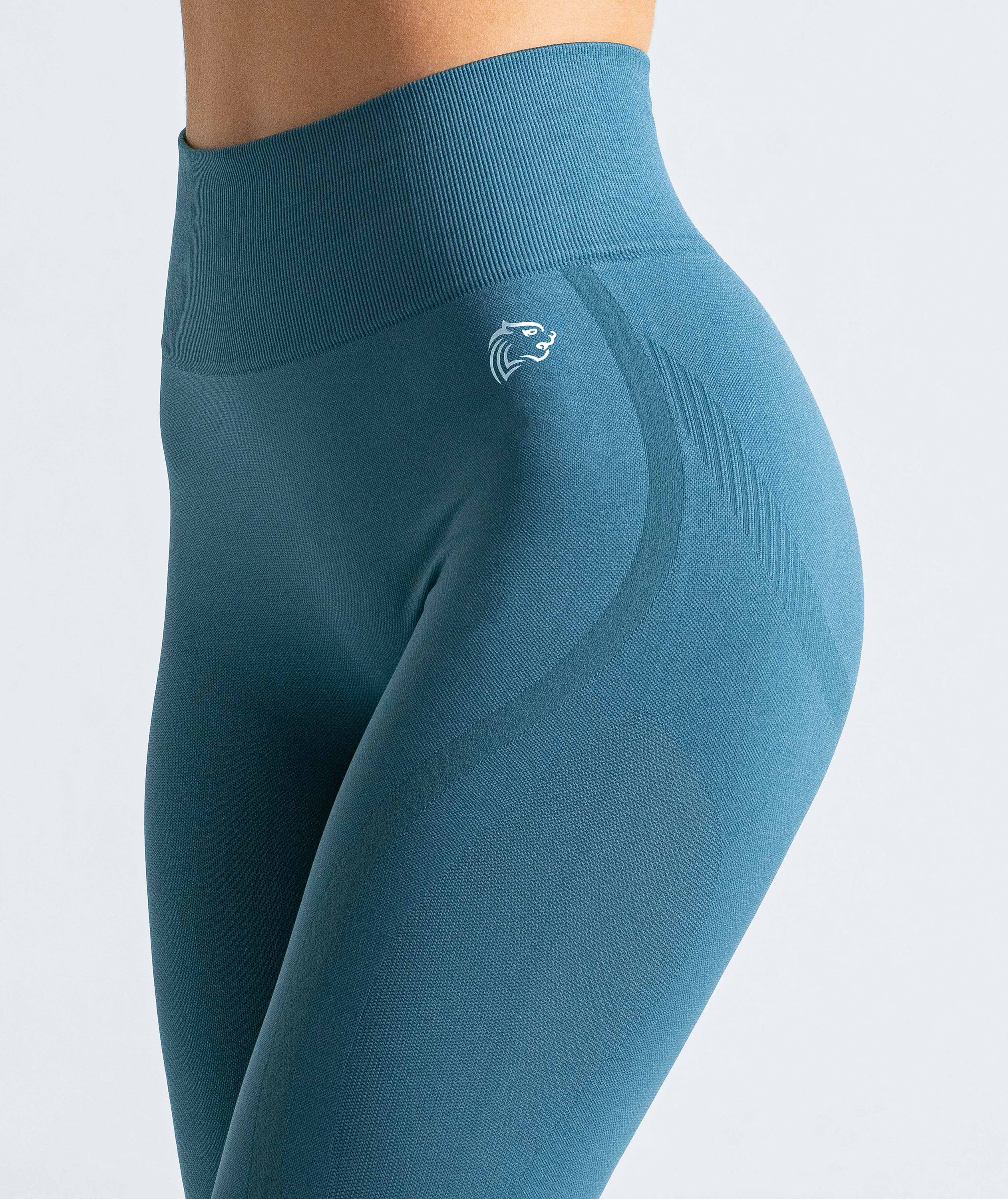 Workoutiger Spin Seamless Legging Jade Green