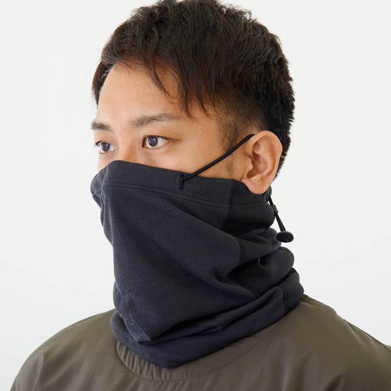 finetrack(ファイントラック)/YAMAP別注ダブルフェイス・ネックゲイター/ブラック/UNISEX