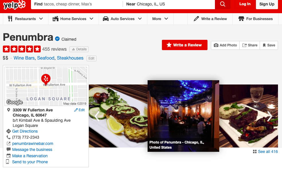 local seo management for restaurants