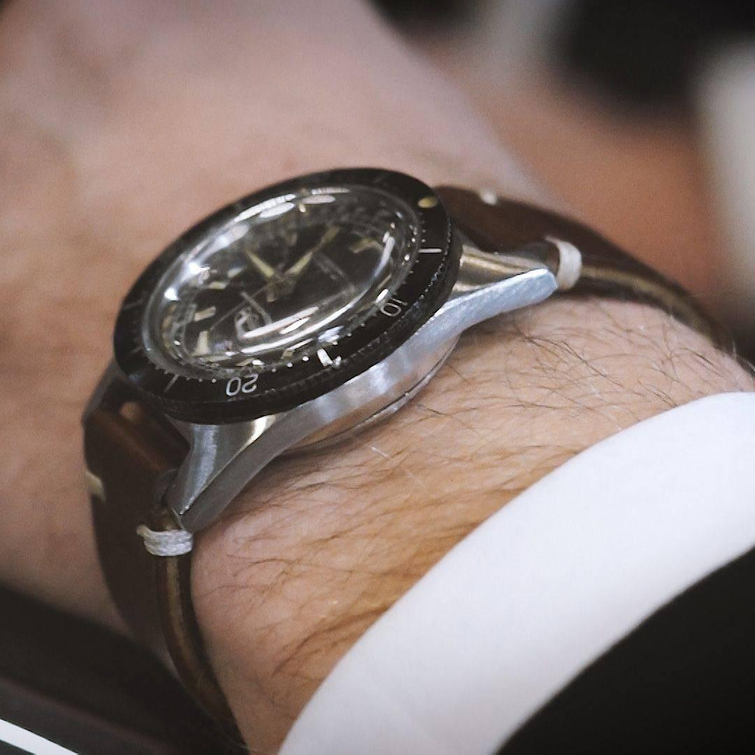 Ollech and Wajs Zurich 1956 OW vintage watch Swiss made NAVICHRON OW2002