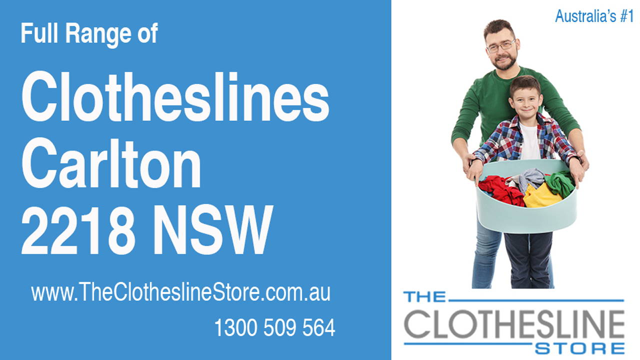 Clotheslines Carlton 2218 NSW