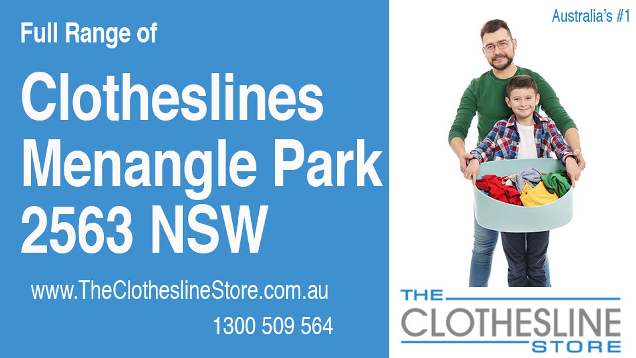 New Clotheslines in Menangle Park 2563 NSW