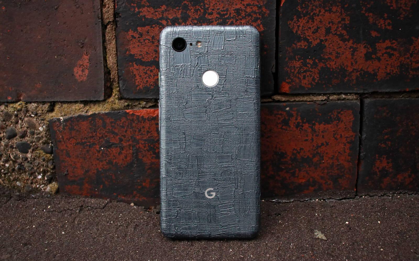 Google Pixel 3 Carved Charcoal Skins