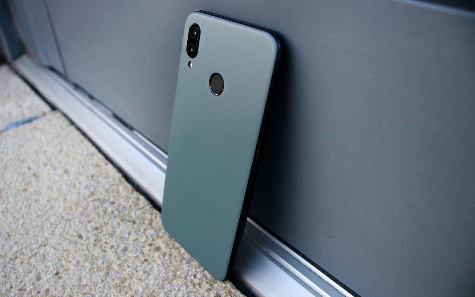 Huawei P20 Lite Matt Grey Skins