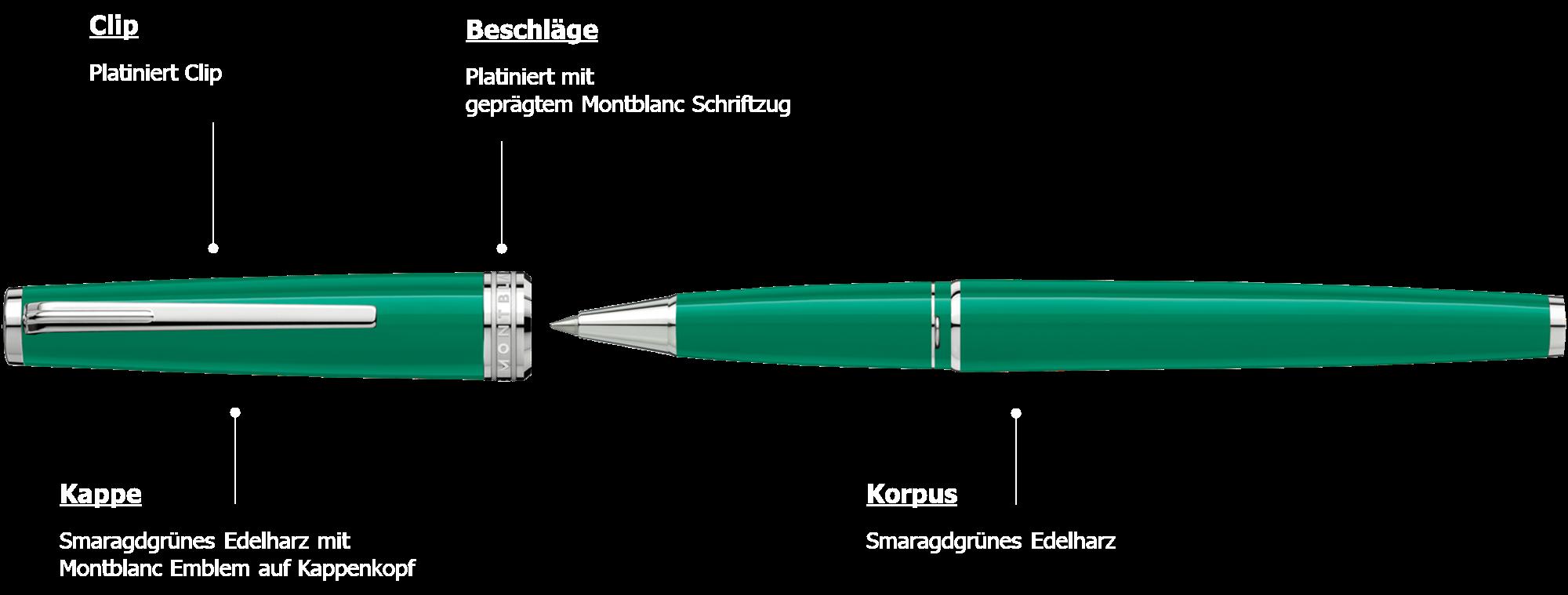 Montblanc PIX Green