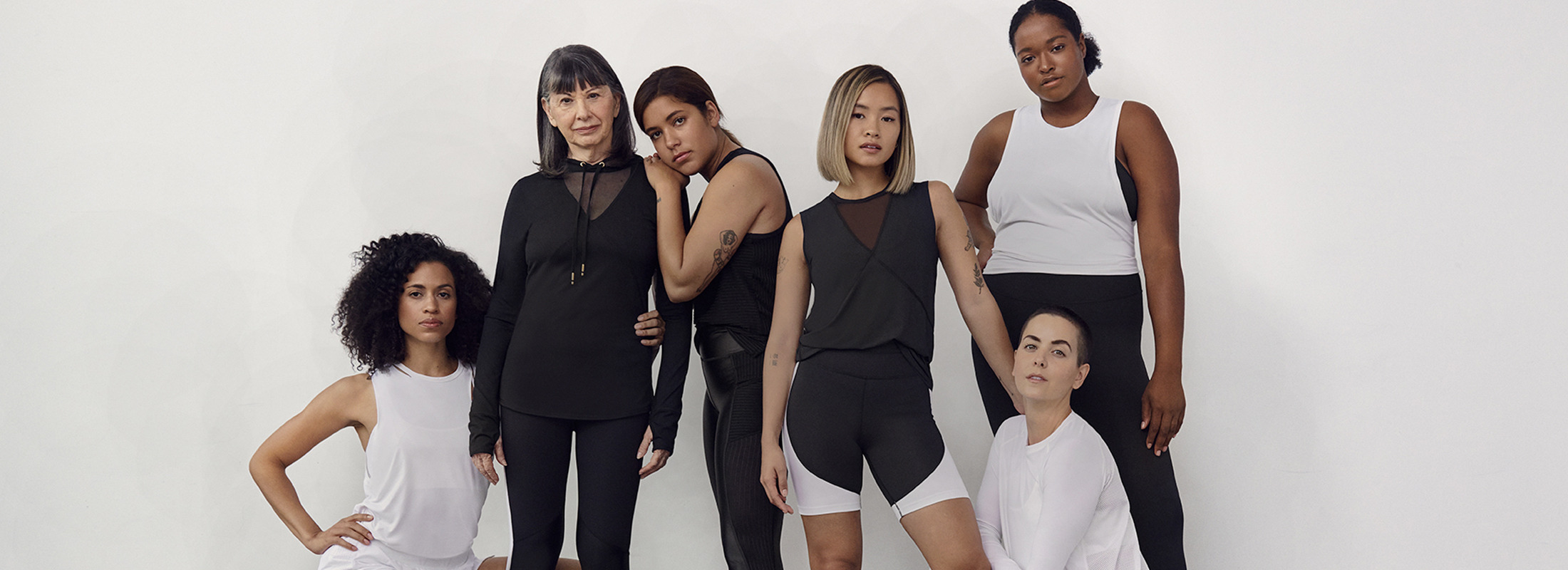 Superbodies Campaign Group-shot of six women.