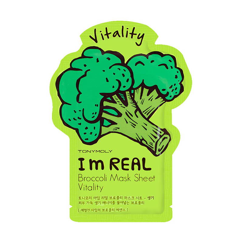 Tony Moly I`m REAL Broccoli Mask Sheet Vitality