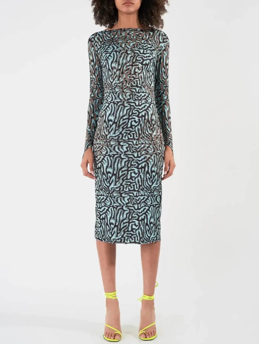 Shop the Maisie Wilen Printed Dress