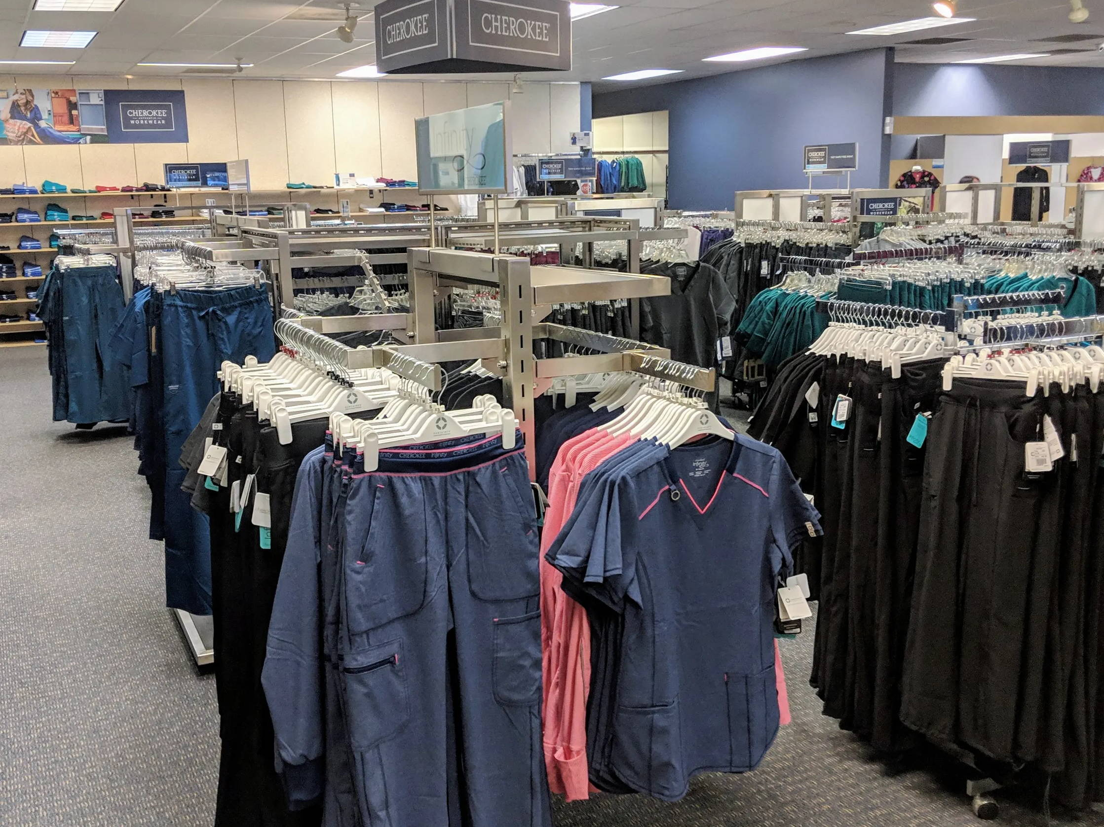 Big Selection of New Medical Scrubs