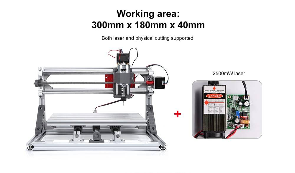 Alfawise C10 CNC 3018 Engraving Machine
