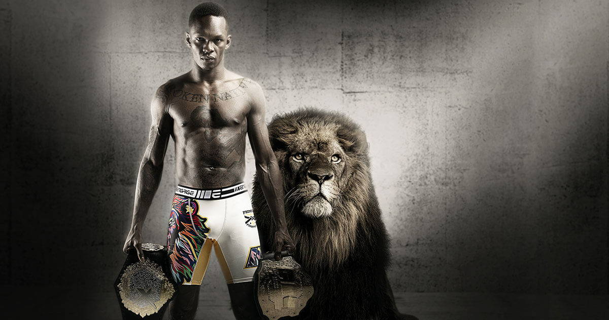 Israel Adesanya - Official Engage Fight Team Bio | Engageind.com