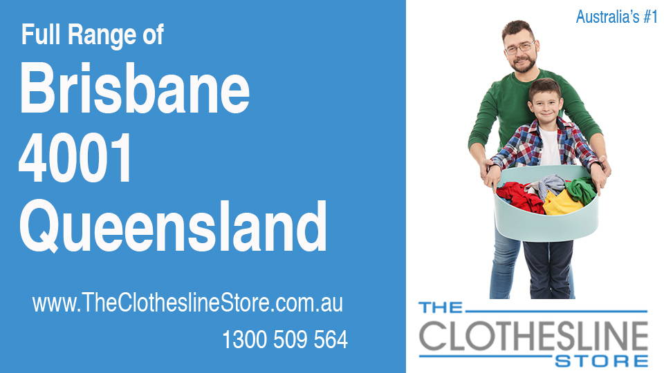 New Clotheslines in Brisbane Queensland 4001