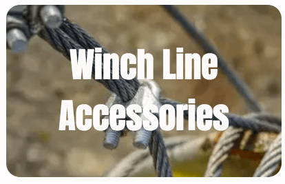 Winch line accessories
