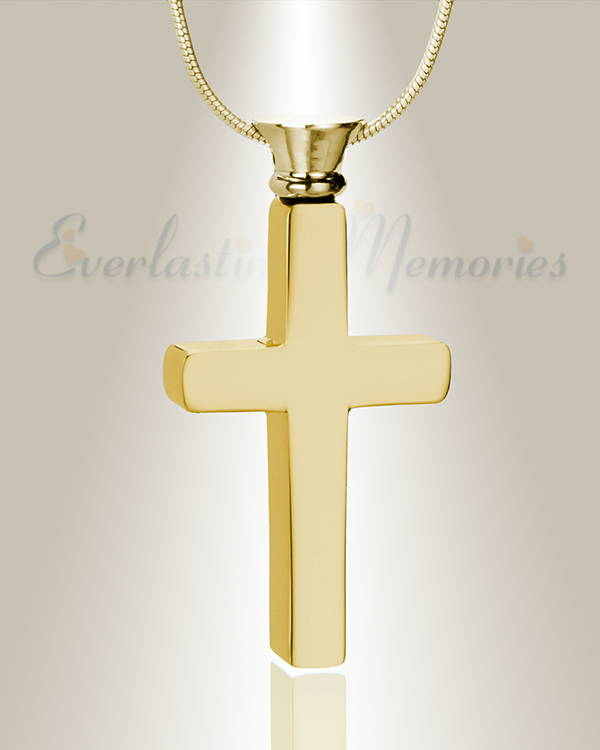 Forever Collection Gold Plated Cross