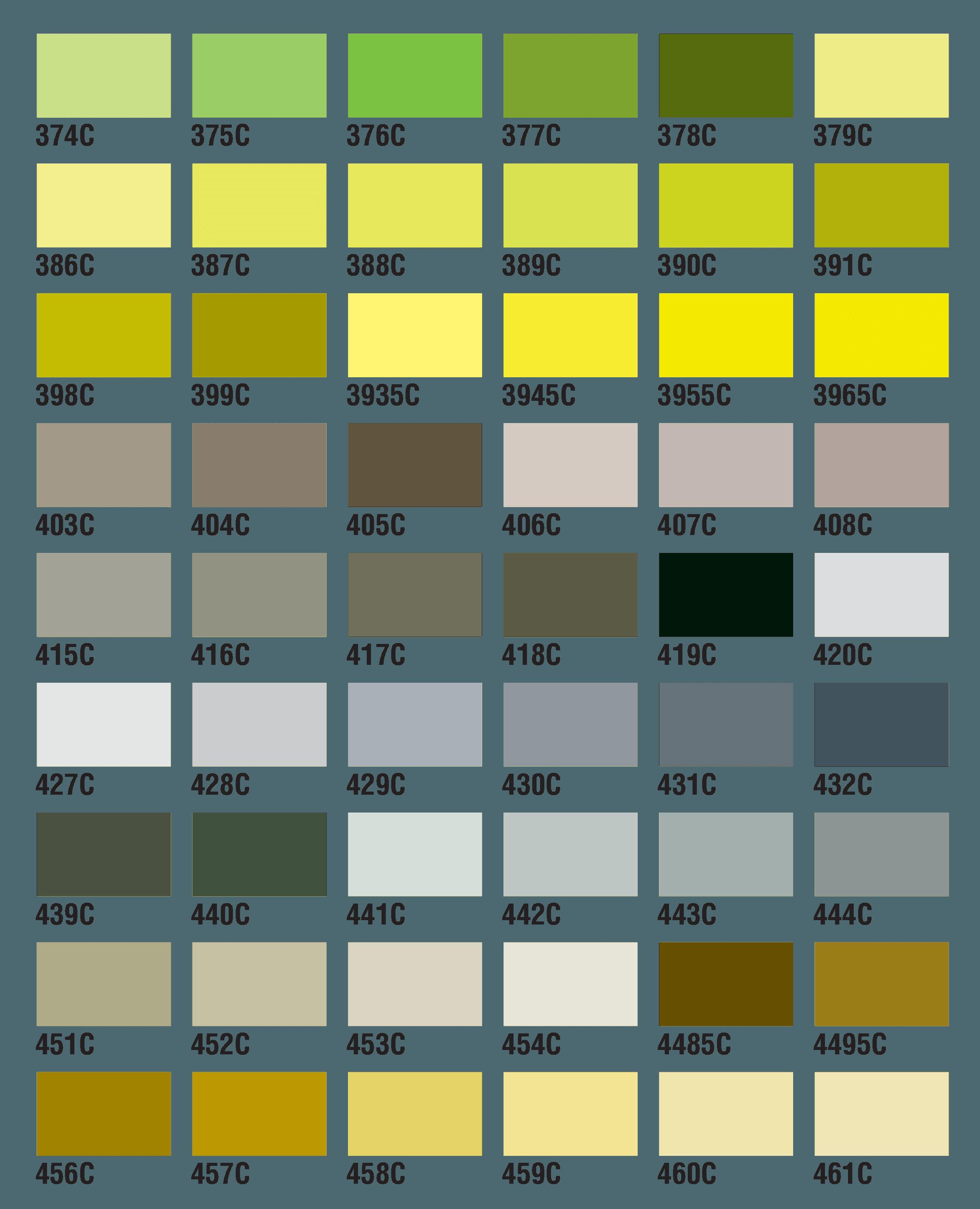 PMS Colors 10