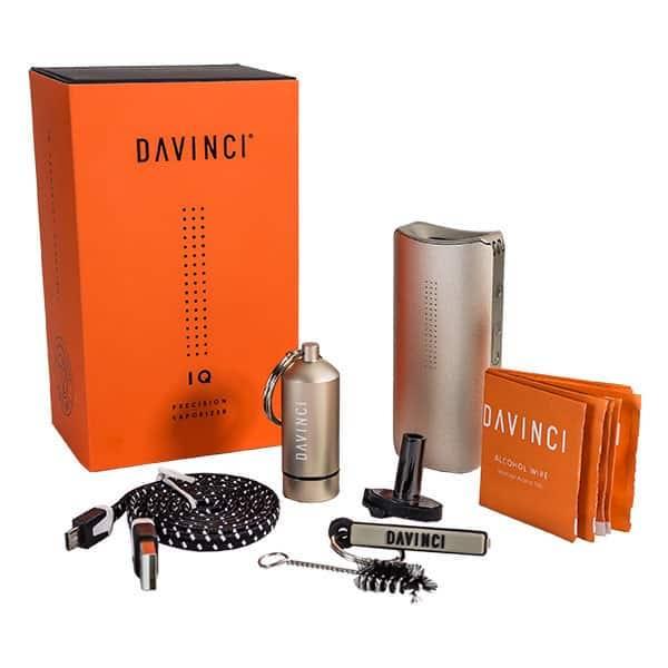 DaVinci IQ Vaporizer Box Unboxing