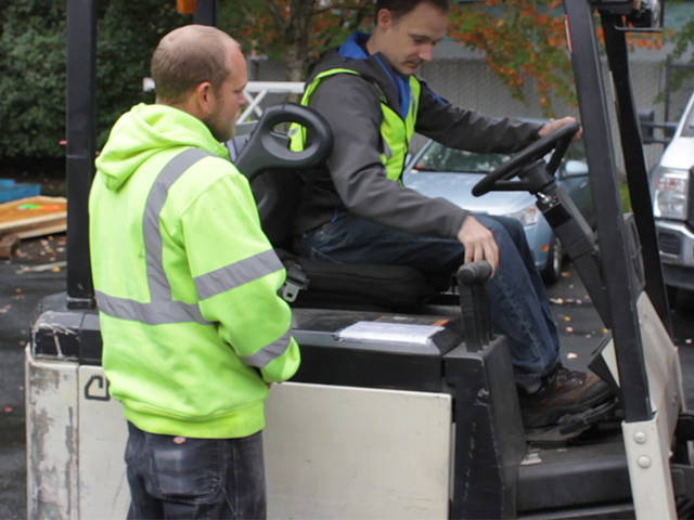Hands On Forklift Driver Evaluation