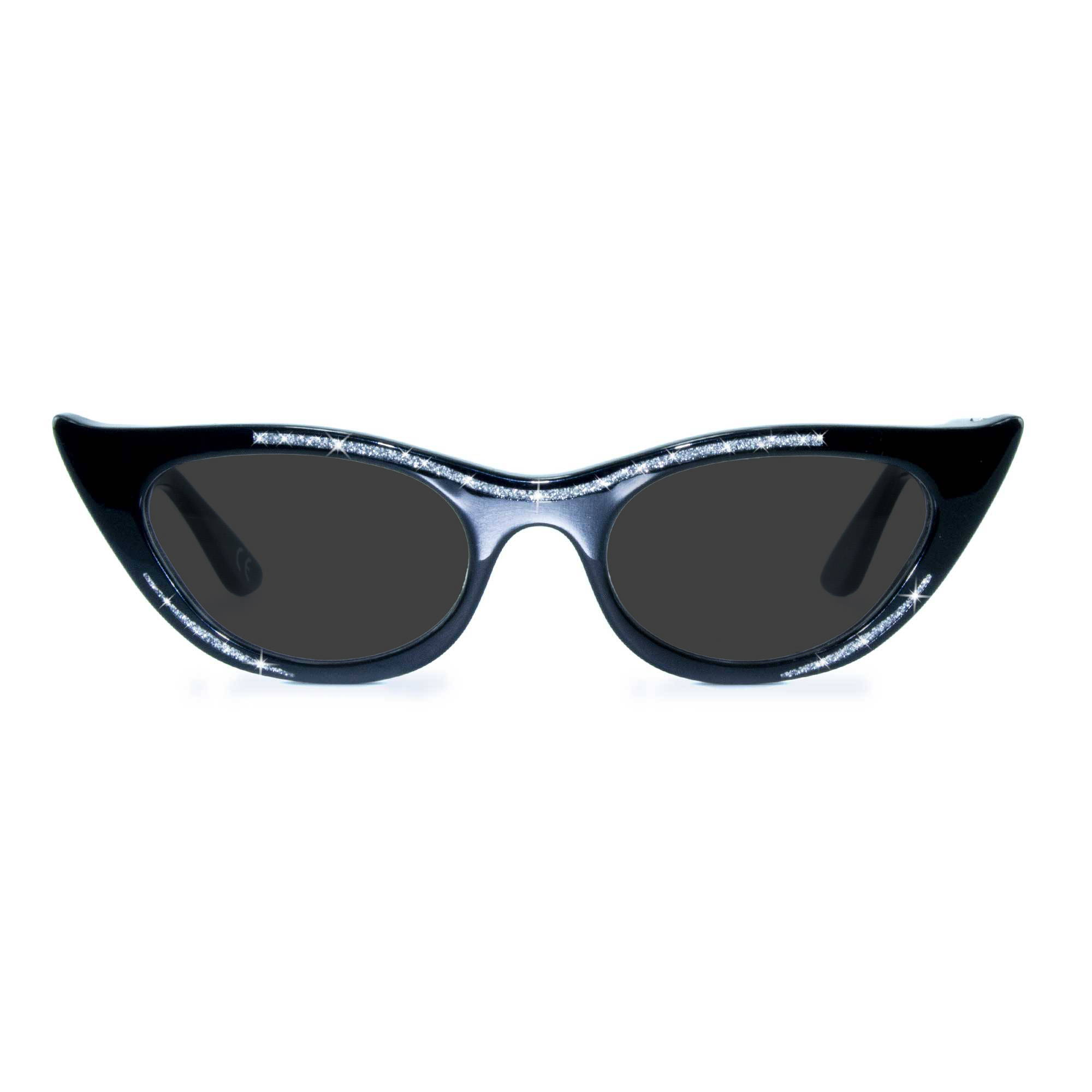 Joiuss lana black cat eye sunglasses