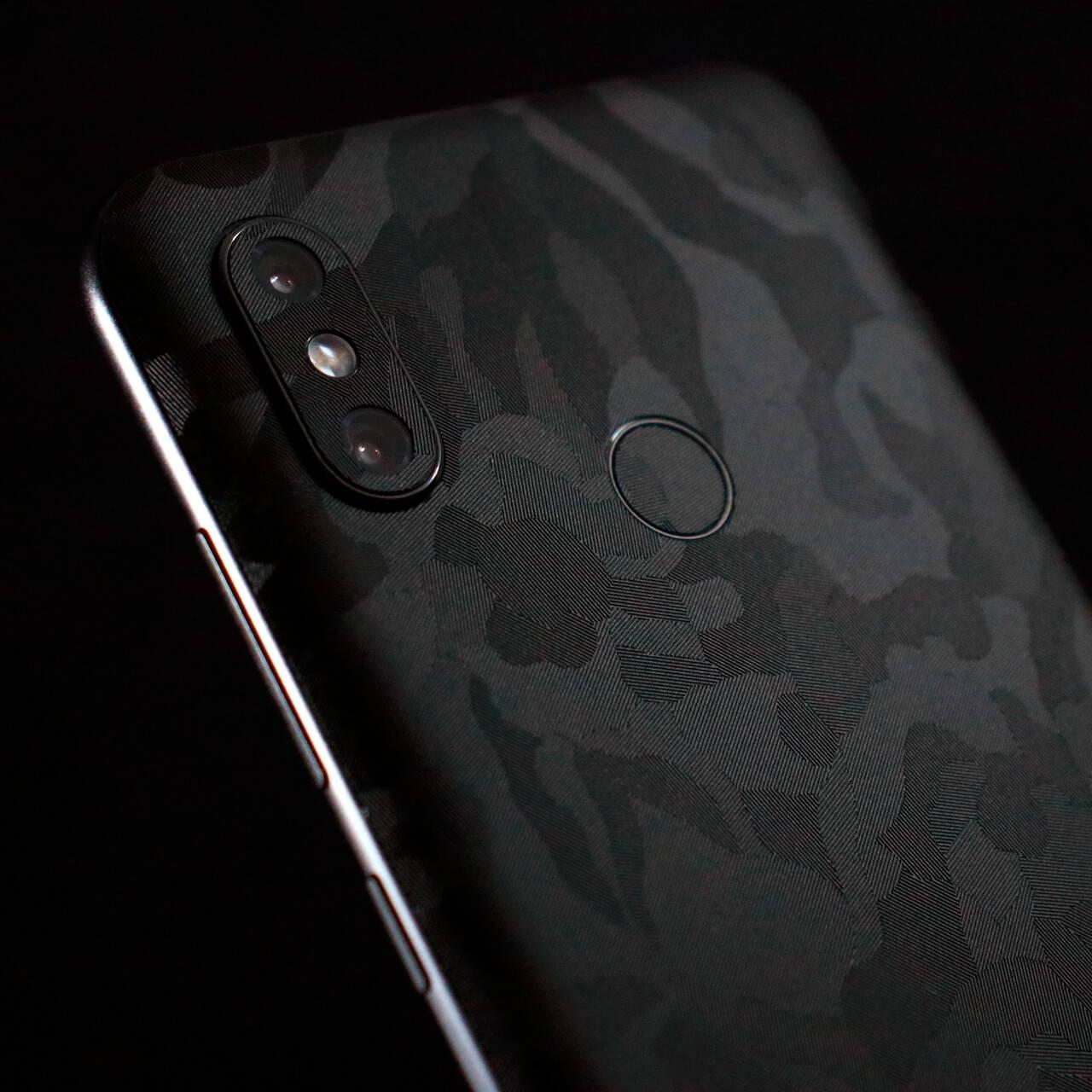 Xiaomi Mi 8 Black Camo Skins