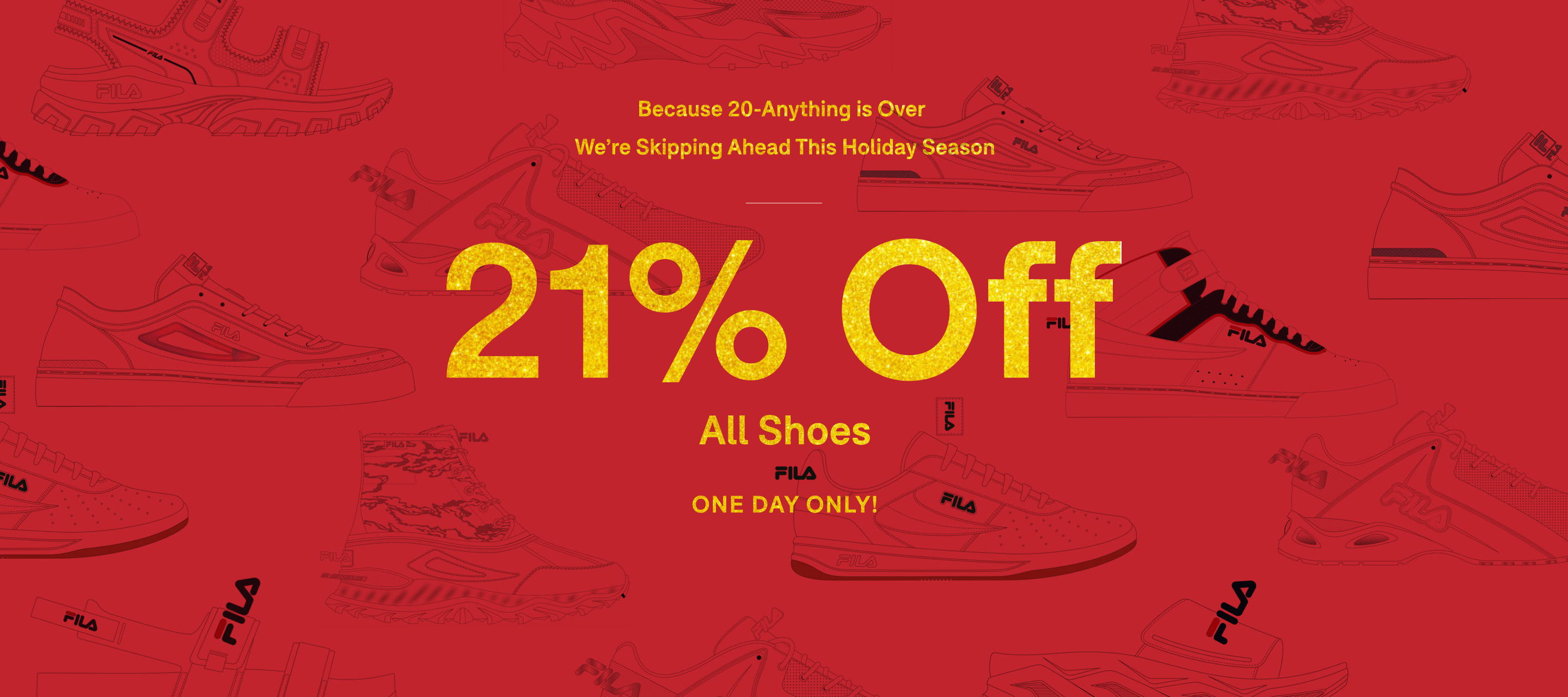 21% Off All Shoes