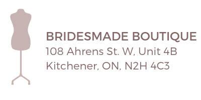 bridesmade boutique kitchener