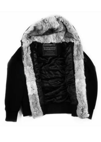Carbonesque mens Arctique wool coat