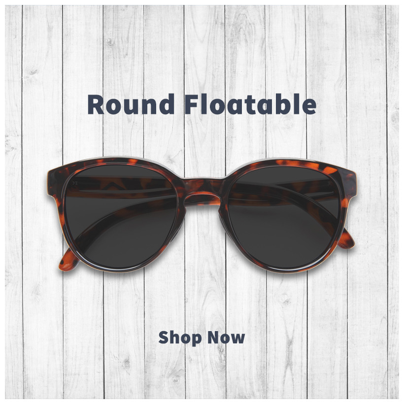 round floating sunglasses