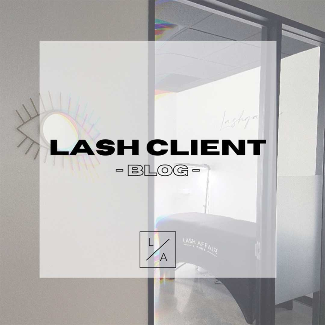 Eyelash Extension Client Blog