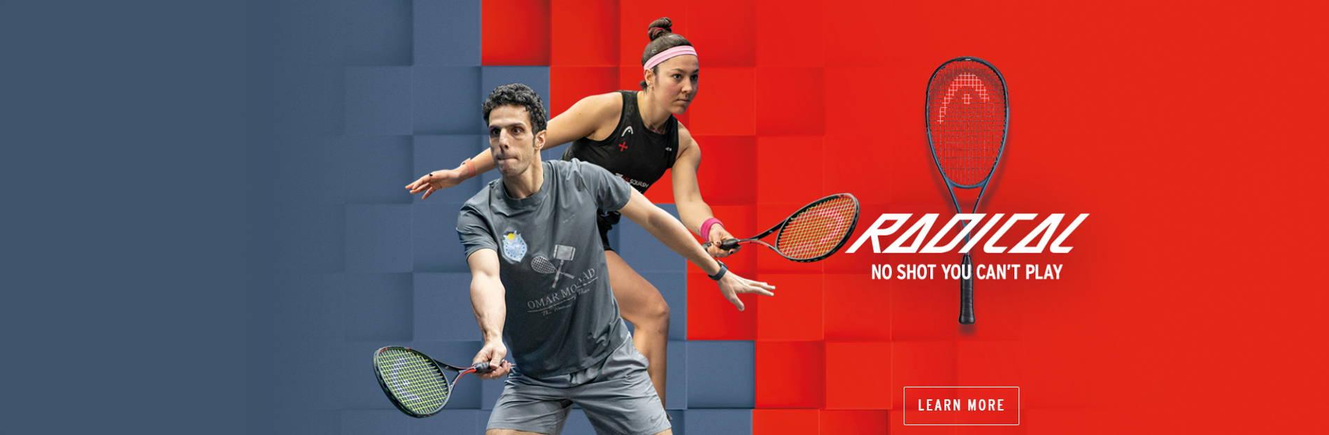 Head Graphene 360+ Radical Squash Racquets