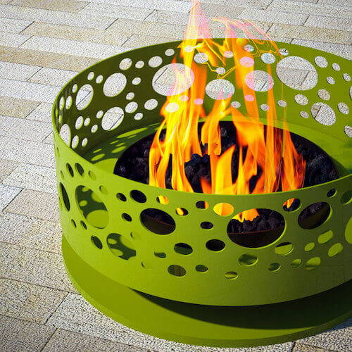 Modfire Solfire Outdoor Fireplace